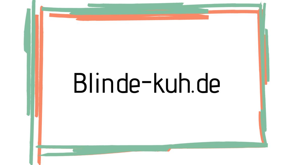 Blinde Kuh Englisch